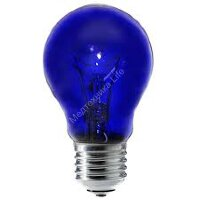 Лампа накаливания вольфрамовые ( синие ) типов  А55 С230-60 ( Е27)