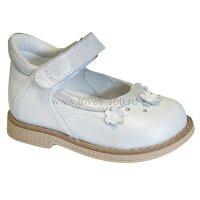 TW-225 Туфли ортопедические малосложные (с закрытым носком) цв.3-бело-синий, 22