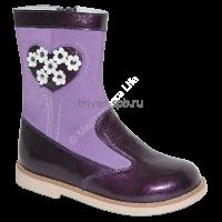 TW-508 Сапожки ортопедические малосложные (утепленные) цв.1-фиолетовый, 26,27,28,29,30