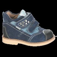 Ботинки ортопедические малосложные утепленные TW-406 (цв 3 темно-синий) р-р 28, 29, 30