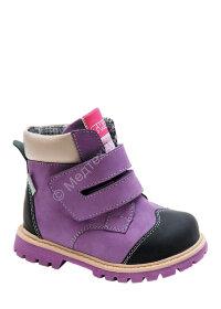 Ботинки ортоп малосложные цв.4- фиолетовый TW-320 (21, 22, 23, 24, 25, 26, 27, 28, 29, 30)