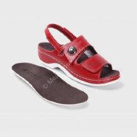 LM-701.017R Обувь ортопедическая малослож LUOMMA жен.туфли. Красный  р-р (38,39,40)