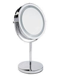 LM194 Зеркало косметологич. 2-х стороннее со светодиодной подсветкой Gezatone