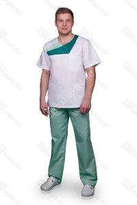 М-771 Костюм хирургический мужской  (короткий рукав) AYMAN  Размер 48,50,52,56