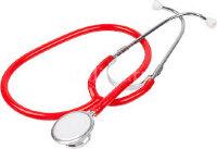 """Стетоскоп WS-2, двухголовочный (Красный) """"Альфа-Медика"""""""