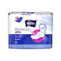 Прокладки гиенические Белла Perfecta ультра maxi (голубые) №8