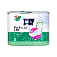Прокладки гиенические Белла Perfecta ультра maxi (зеленые) №8