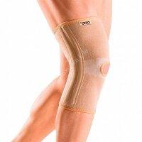 """871 BKN Бандаж ортопедический на коленный сустав с гибкими ребрами жесткости """"Орто"""" (S,M,L,XL)"""