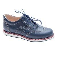 Ботинки ортоп малосложные цв.3-темно-синий  TW-430(р/у 2012/13740)