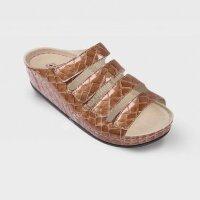 LM-503.014 Обувь ортопедическая малослож LUOMMA жен.бот. Песок крокодил р-р (38,39)
