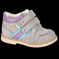 Ботинки ортоп. малосложные цв.3-серо-фиолетовый TW-407 р.21,22,23,25