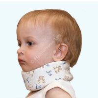 Бандаж для легкой фиксации шейного отдела позвоночника  для новорожд. ЭкотенОВ-001(р/у 2010/07595)