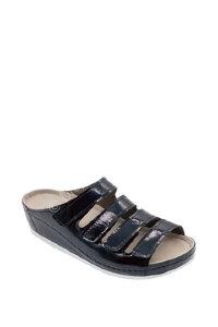 LM-703N.050 Обувь ортопедическая малослож LUOMMA жен.туфли. лак агат р-р (38,39)